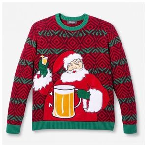 Other - NWT Mens Ugly Beer Beverage Xhristmas Sweater XL